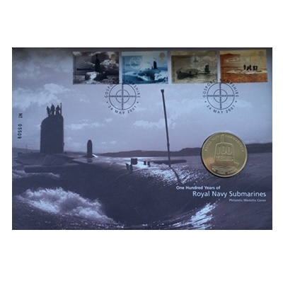 2001 100 Years Royal Navy Submarines - Medallion Coin